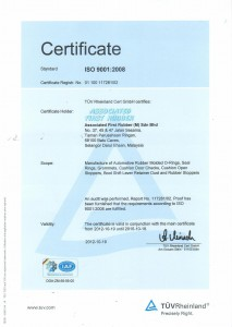 AFR - ISO 9001 2008